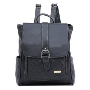 Tas Backpack Ransel Punggung Wanita Sintetis Hitam TYS 1120 GARUCCI