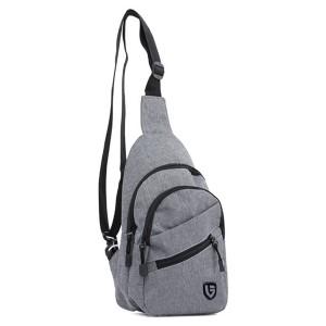 Tas Backpack Ransel Sling Pria Sintetis Abu TDG 4129 GARUCCI