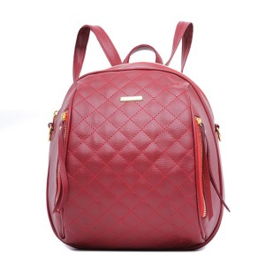 Tas Backpack Ransel Punggung Wanita Sintetis Maroon TRE 1108 GARUCCI