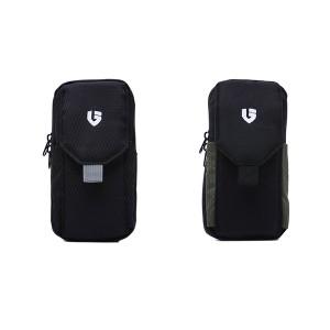 Dompet Sarung HP Smartpone Sintetis Hijau – Hitam GAJ 2463 GARUCCI