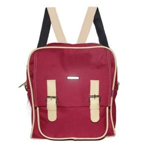 Tas Backpack Ransel Punggung Wanita Sintetis Merah THN 1105 GARUCCI