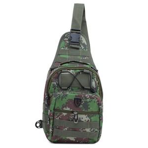 Tas Backpack Ransel Sling Pria Sintetis Hijau TRH 4120 GARUCCI