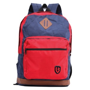 Tas Backpack Ransel Punggung Pria Sintetis Merah TRH 5912 GARUCCI