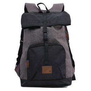 Tas Backpack Ransel Punggung Pria Sintetis Hitam TGS 5922 GARUCCI