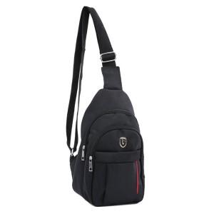 Tas Backpack Ransel Sling Pria Sintetis Hitam TDG 4130 GARUCCI