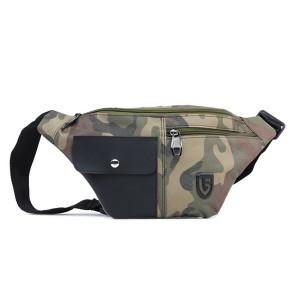 Tas Backpack Ransel Sling Pria Sintetis Hijau TRH 4138 GARUCCI