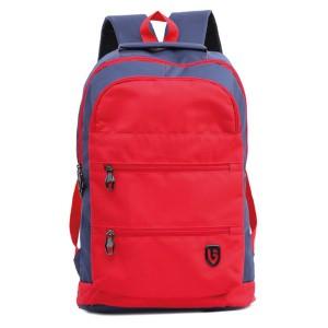 Tas Backpack Ransel Punggung Pria Sintetis Merah TAW 5902 GARUCCI