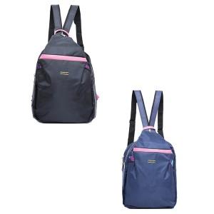 Tas Backpack Ransel Punggung Wanita Hitam – Biru TYA 1115 GARUCCI