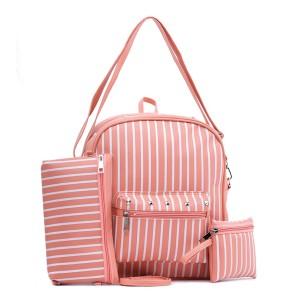 Tas Backpack Ransel Punggung Wanita Sintetis Pink TYN 1022 GARUCCI
