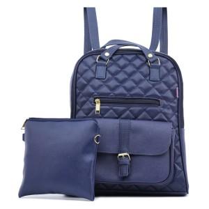 Tas Backpack Ransel Punggung Wanita Sintetis Biru TYU 1127 GARUCCI