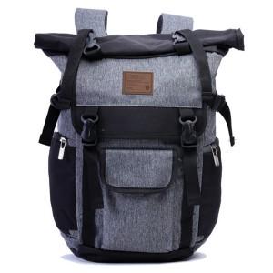 Tas Backpack Ransel Punggung Pria Sintetis Hitam TGS 5923 GARUCCI