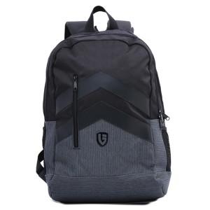 Tas Backpack Ransel Punggung Pria Sintetis Hitam TIP 5907 GARUCCI