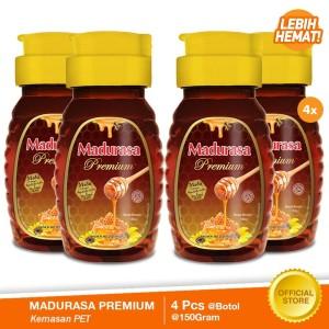 Beli 4 Madurasa Premium Madu Royal Jelly Bee POLEN 150gr Lebih Hemat