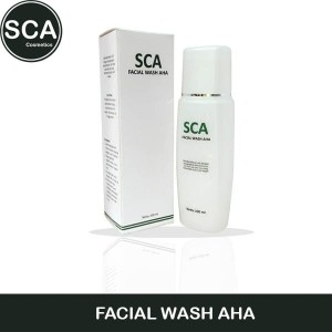 Facial Wash AHA SCA Cosmetics