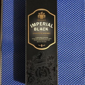 Imperial black whisky
