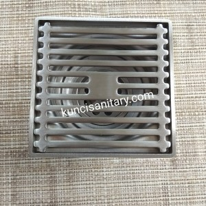 Floor shower drain stainless 304 tile insert anti-bau kamar mandi