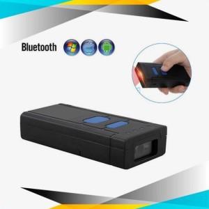 Mini Barcode Scanner Kasir POS EPPOS 1D 2D Portable BT202 Bluetooth