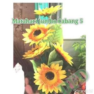 Jual Dijual Bunga Matahari Jumbo Cabang 5 Bunga Artificial Bunga Jakarta Barat Berliana Salsabila Tokopedia