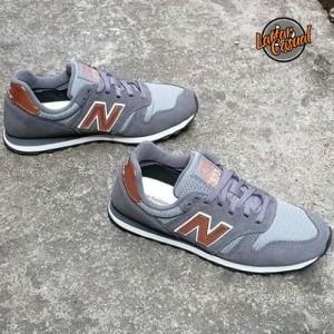 New Balance 373 Dark Grey Gold
