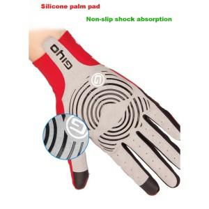 GIYO Breathable Cycling Gloves Sliding Screen Anti Slip Gel Pad Road Bike Full