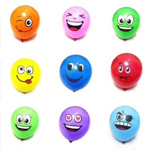 Jual 20pcs Balon Latex Smile Emoji Balon Latex Murah12inches