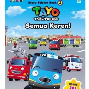 Jual Terbaru Tayo The Sticker Bus 2 Tayo The Little Bus Semua Keren Jakarta Barat Saritashops88 Tokopedia