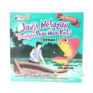 Gambar Nelayan Dan Ikan Mas Jual Buku Cerita Anak Janji Nelayan Dengan Ikan Mas Koki Kota Bekasi Anwarshoop Tokopedia