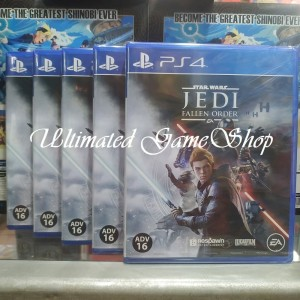 Jual Star Wars Jedi Fallen Order Ps4 Jakarta Utara Ultimated Games Tokopedia