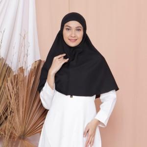 Jual Khimar Hijab Instan Bergo Bulat Maryam Syari Tali Jilbab Kerudung Jaya Kota Bandung Arrafah Olshop Tokopedia