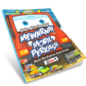 Jual Termurah Buku Aktivitas Seru Mewarnai 2 In 1 Mobil Kota Administrasi Jakarta Pusat Wallo Shop Tokopedia