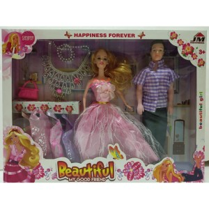Jual Mainan Anak Perempuan Boneka Barbie Pasangan Couple Baju Pesta Jakarta Utara Mainan Anakkecil Tokopedia