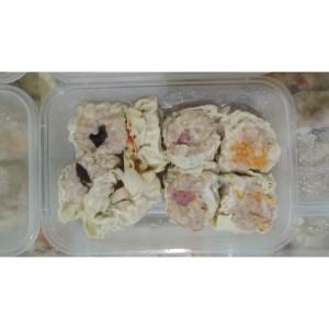 Jual Dimsum Frozen Dim Sum Ayam Frozen Isi 8 Topping Mix Bukan Somay Siomay  - Kota Bekasi - Zilky Indonesia   Tokopedia