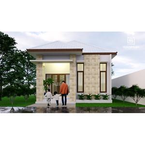 Jual Produk Jadi Desain Rumah Minimalis 1 Lantai Ukuran 6x9 Meter Kab Kediri Sannur Arsitek Tokopedia