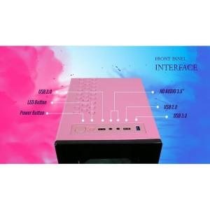 Jual Cube Gaming Cabazon Atx Free 2 Pcs Rainbow Rgb Fan Side Tempered Glass Putih Jakarta Utara Tf Com Tokopedia
