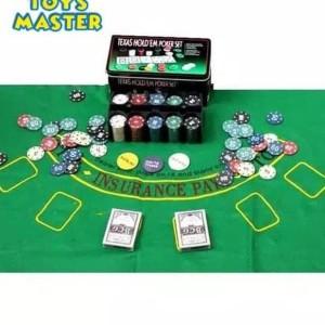 Jual Terpopuler 1437 Texas Hold Em Poker Set Casino Style Poker Chip Jakarta Barat Arzum Hoby Koleksi Tokopedia