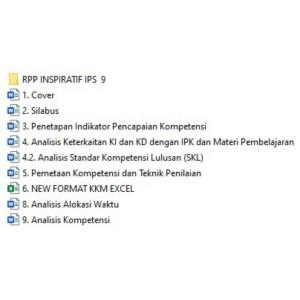 Jual Cd Rpp Silabus Pembelajaran Ips Smp Mts Kelas 9 K13 Kota Tasikmalaya Zahwan Store Tokopedia