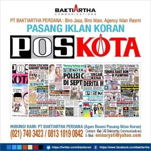 Jual Pasang Iklan Baris Kompas Poskota Wartakota Kota Tangerang Selatan Iklan Kompas Poskota Tokopedia