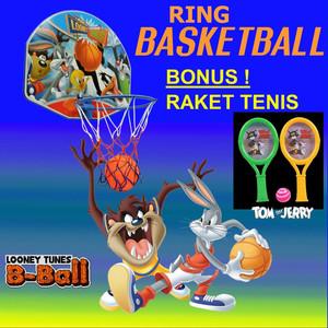 Jual Buy 1 Get 1 Basket Ball Ring Bonus Raket Tenis Mainan Anak Game Kota Tangerang R Dkidztoys Tokopedia