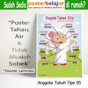 Jual Tipe 05 Poster Anggota Tubuh Anak Muslim Perempuan Untuk Paud Tk Sd Kota Cimahi Grosir Poster Belajar Tokopedia
