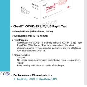 Jual Rapid Test Antibody Igg Igm Chekr Bbio Jakarta Pusat Ozil Ibra Store Tokopedia