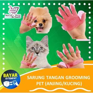 Jual Pet Wash Brush Sarungan Tangan Hewan Anjing Kucing Grooming Pet Tmp 03 Jakarta Pusat Nur58 S Shop Tokopedia