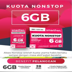 Jual Smartfren Nonstop 6gb Perdana Putih Kab Malang Aigostore 01 Tokopedia