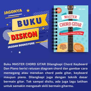 Jual Buku Master Chord Gitar Kota Semarang Jagoan Bookstore Tokopedia