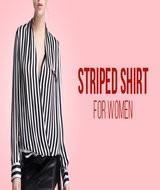 Striped Shirt Wanita