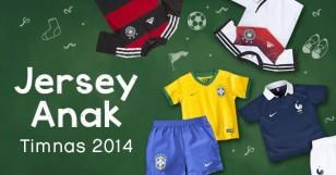Jersey Anak Timnas 2014