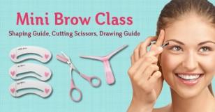 Mini Brow Class Drawing Guide