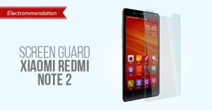 Screen Guard Xiaomi Redmi Note 2