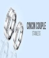 Cincin Couple Stainless