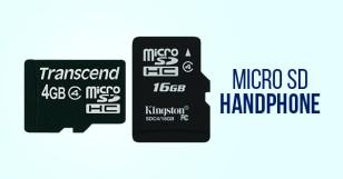 Micro SD Handphone