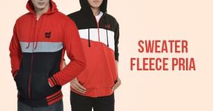 Sweater Fleece Pria